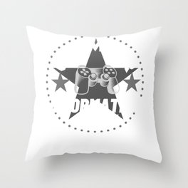 information-clerk Gamer Gift Throw Pillow