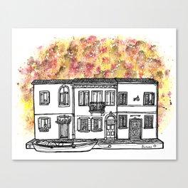 Splash   Burano Canvas Print