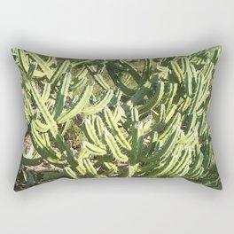 Hedge Cactus, Queen of the Night Rectangular Pillow