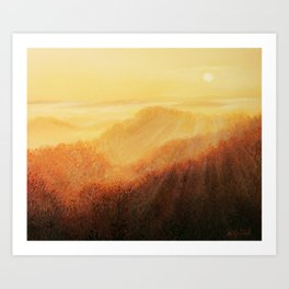 Sun Caress Art Print