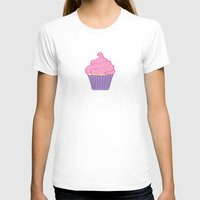 cupcakes T-shirts featuring Cupcakes by CassieLeigh