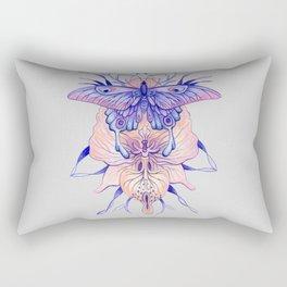 Butterfly Orchid Rectangular Pillow