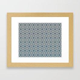 Blues & Grays Framed Art Print