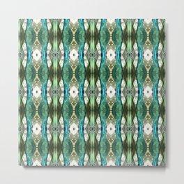 Pattern 47 - Glass Bottles Metal Print