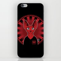 sphynx iPhone & iPod Skins featuring Sphynx! by Visually Odd