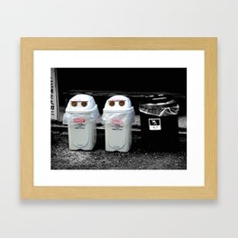 Take us to your leader! Framed Art Print