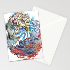 Water & Fire Stationery Cards