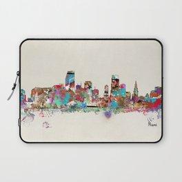 Miami Florida skyline Laptop Sleeve
