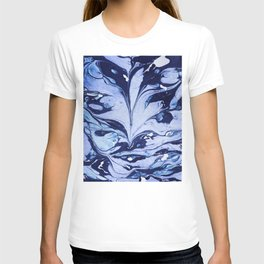 Dark and Bright and Blue T-shirt