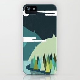 Beside The Mountains iPhone Case