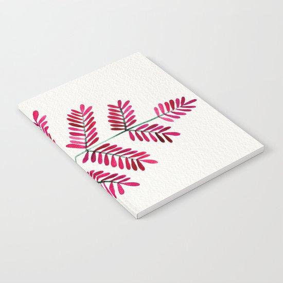 Pink Leaflets Notebook