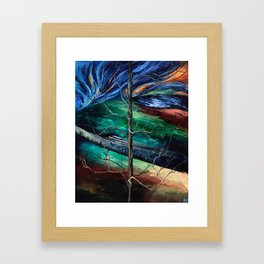 """""""Spring in Clinton"""" Painting Framed Art Print"""