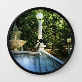 Lithia Park Fountain Wall Clock