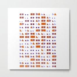 "Math Art Digital Print - ""baccaRat"" Metal Print"