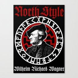 Wilhelm Richard Wagner Canvas Print