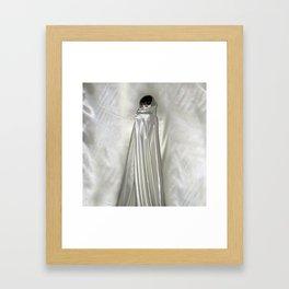 "say no to patriarchy / ""the niqāb"" Framed Art Print"