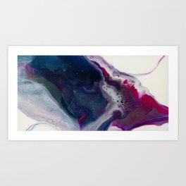 In Bloom - Resin art Art Print