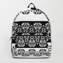 Black and white lace pattern . by fuzzyfox85