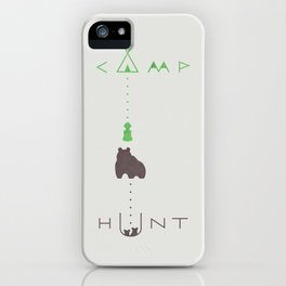 camp / hunt iPhone Case