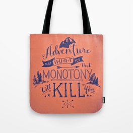 GO...adventure Tote Bag