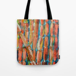 Coral Night of Sugarcane Tote Bag