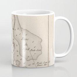 Vintage Map of St Augustine FL (1764) Coffee Mug