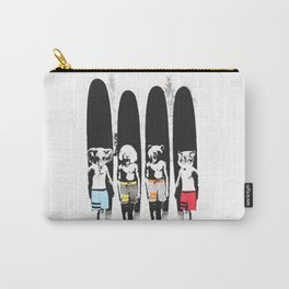 Animal Friends Surfer Club Carry-All Pouch