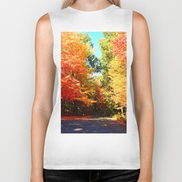 Road of Candied Trees Biker Tank