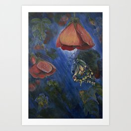 Shelter in the Storm Art Print