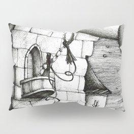 Dark haired princess Pillow Sham