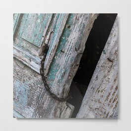Old Blue Wooden Door in Rethymnon | Doors of the World | Crete, Greece, Europe | Black & White Photography | Travel Photography | Photo Print | Art Print Metal Print