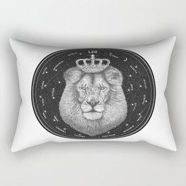 Zodiac sign Leo Rectangular Pillow