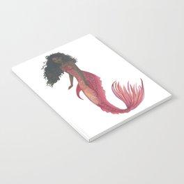 Red Mermaid Notebook