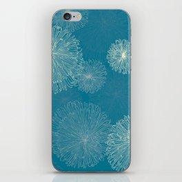 Spider Chrysanthemums iPhone Skin