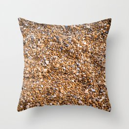 Stony Beach Throw Pillow