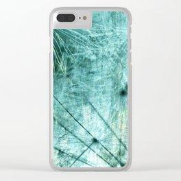 Dandelion Art 7 Clear iPhone Case