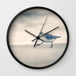 Just Keep Walking Wall Clock