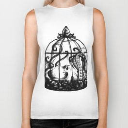 Cage the Cephalopod Biker Tank