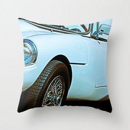 Vintage Sports Car Throw Pillow