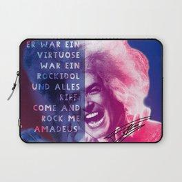 Rock Me Amadeus Laptop Sleeve