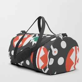 Mistletoe and Christmas ornament Duffle Bag