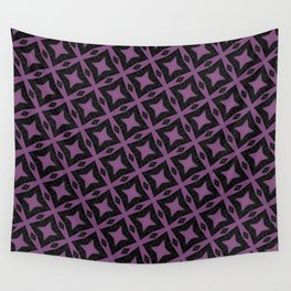 Purple illusions Wall Tapestry