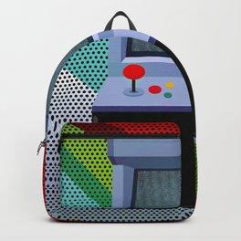 Retro Arcade Joystick Video Game Backpack