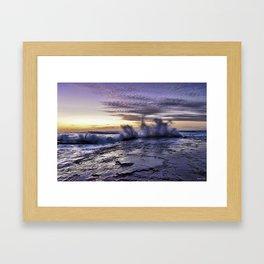 Morning Splash Framed Art Print