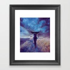 Entropic misadventure Framed Art Print
