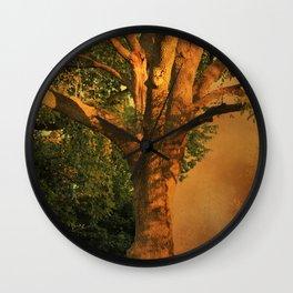 Tree Poem Wall Clock