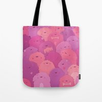 potato Tote Bags featuring Potato Chips by Nandi Appleby