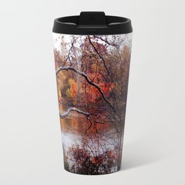 Fall in Central Park Travel Mug