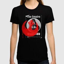 Empire recruitment poster defaced T-shirt