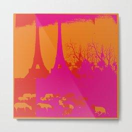 PARIS_ig1 Metal Print